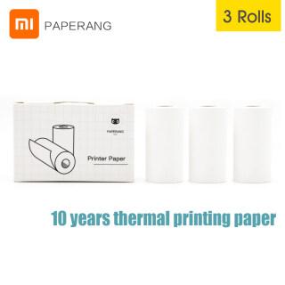 Xiaomi Youpin Paperang Giấy In Nhiệt, Tương Thích Với Máy In Bỏ Túi Mini Paperang P1 P2 P2S Giấy 57X30 Mm 3 Cuộn thumbnail