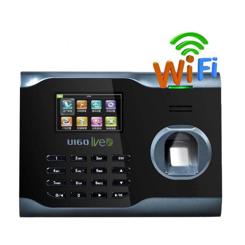 Biometric WIFI Fingerprint Attendance Time Clock Id Card Check Reader Tcp//IP USB