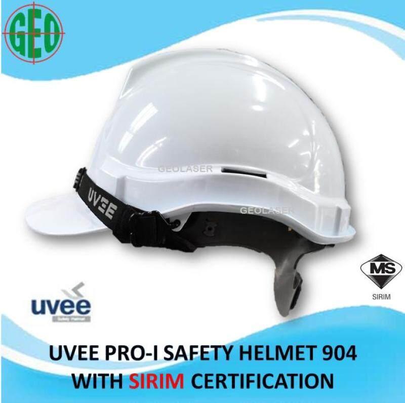 UVEE SAFETY HELMET PRO-I (904) SLIDE LOCK (YELLOW / WHITE / ORANGE)