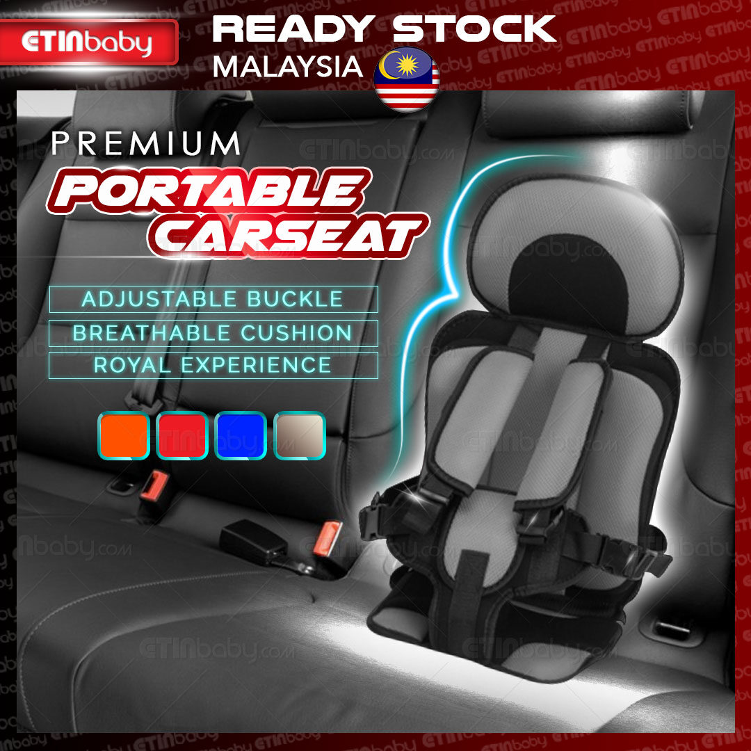 Portable Car Seat or Child Safety Cushion [READY STOCK] for 6month -4 years old or 3 - 12 years old