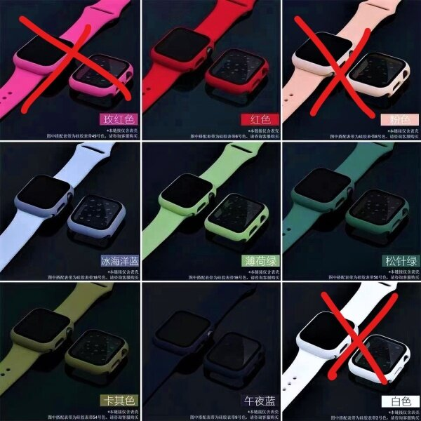 T500 44mm Apple Watch Case With Strap Cover Full Protective & Impact Resistance Malaysia