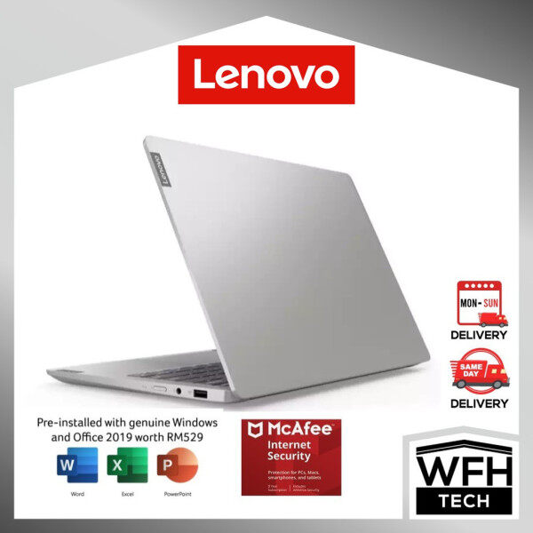 LENOVO S540-13API Light Silver Free Office 2019 (81XC0018MJ)AMD Ryzen 7-3750H 2.30 ~ 4.00GHz/8GB DDR4/512GB 13.3 inch Malaysia