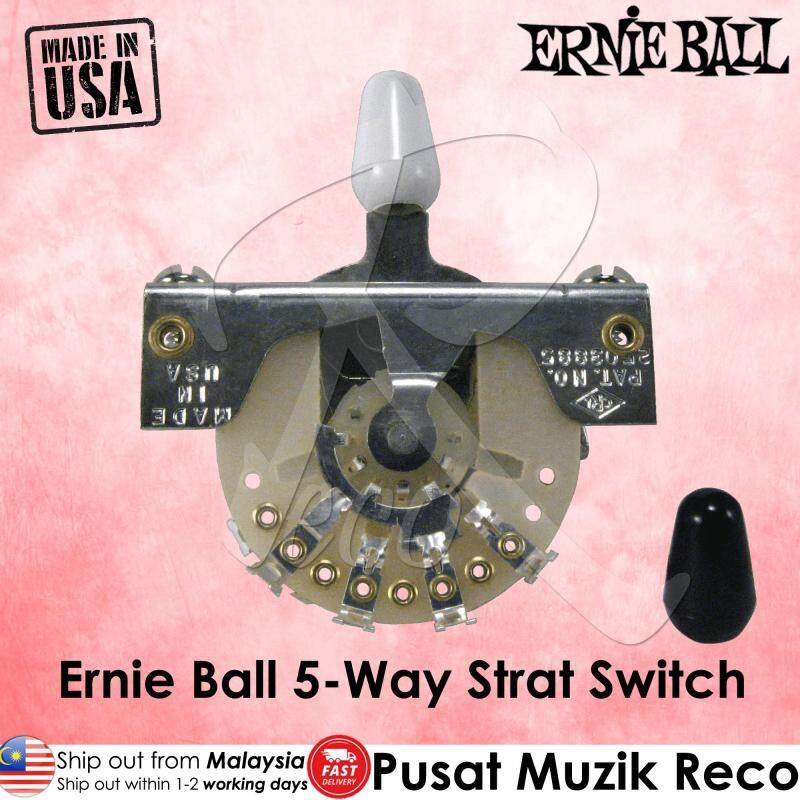 Ernie Ball 6370 Guitar 5-Way Strat Guitar Selector Switch Malaysia