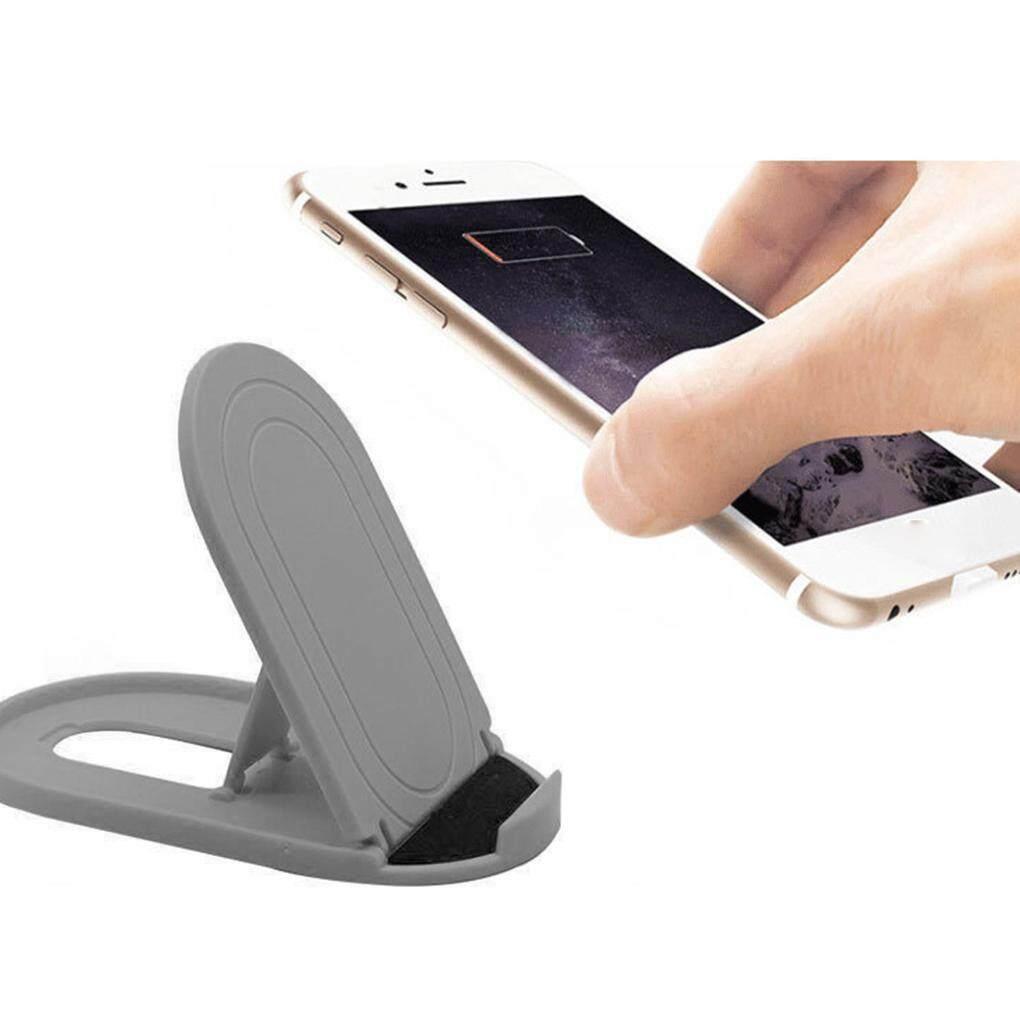 Telepon Seluler Siku-siku Tablet Universal Lipat Plastik Smartphone Meja Stan Meja Berdiri Tempat Ponsel Bracket