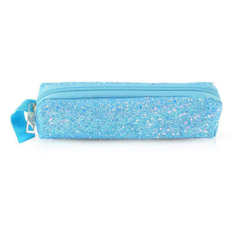 7849693f5811 Treeone Pencil Case Color Changing Reversible Sequins Mermaid Pen Bags for  Girls Magic Cosmetic Bag School Supplies Stationery Gifts