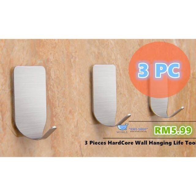 3 PIECES HARDCORE WALL HANGING LIFE HOME TOOL