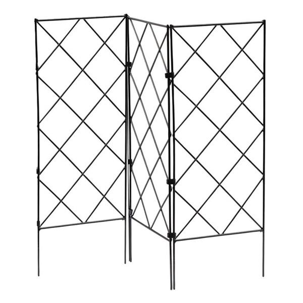 [fetrfewt] Support Frame Easter Door Banner Garden Stand Trellises Iron Material Durable Sturdy For Cucumber Vegetables Hanging Couplet Home Decor Climbing Rack