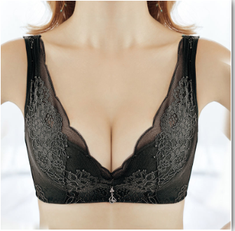 ˉTriumph Đồ Lót Ren Gợi Cảm, Nhẫn Nữ Không Thép Bộ Áo Ngực Ngực Nhỏ Có Thể Điều Chỉnh