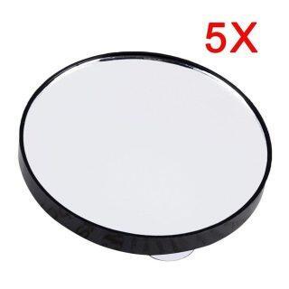 Gương Trang Điểm Tròn Bỏ Túi Mini Tiện Dụng 5X 10X 15X Magnifying Gương Với Hai Cốc Hút, Dụng Cụ Gương Trang Điểm Nhỏ Gọn thumbnail
