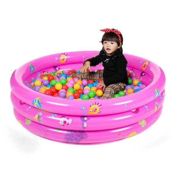 Trinuclear Inflatable Baby Swimming Pool Portable Outdoor Children Basin