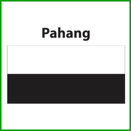 Pahang Flag 3x6ft, Bendera Pahang 3x6ft, Polyester