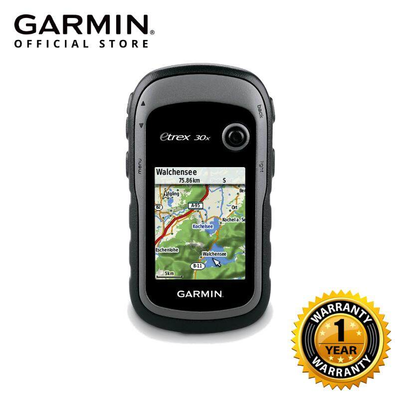 GARMIN ETREX 30X HANDHELD GPS NAVIGATOR WITH 3-AXIS COMPASS FOR BETTER  RESOLUTION & MEMORY