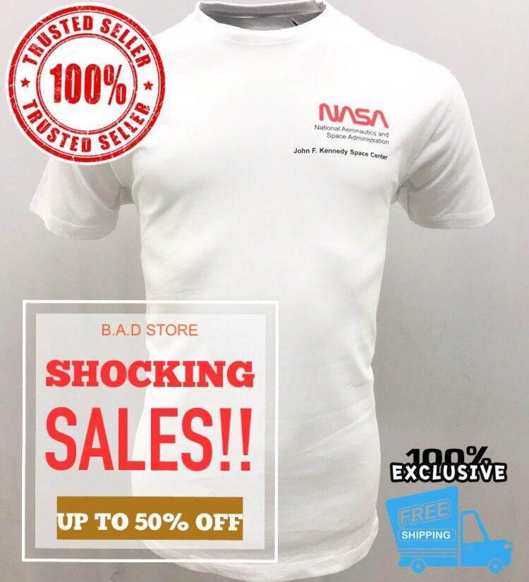18b77454e6a Malaysia. Limited Edition‼ Tshirt Vans X Nasa (White) 100% Cotton