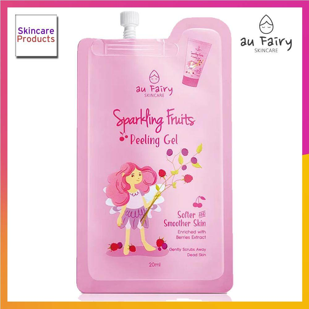 Au Fairy Sparkling Fruits Peeling Gel Remove Dead Skin Deeply Moisturise With Fruit Extracts - Scrub Skincare Products (20ml) By Skincare Products.