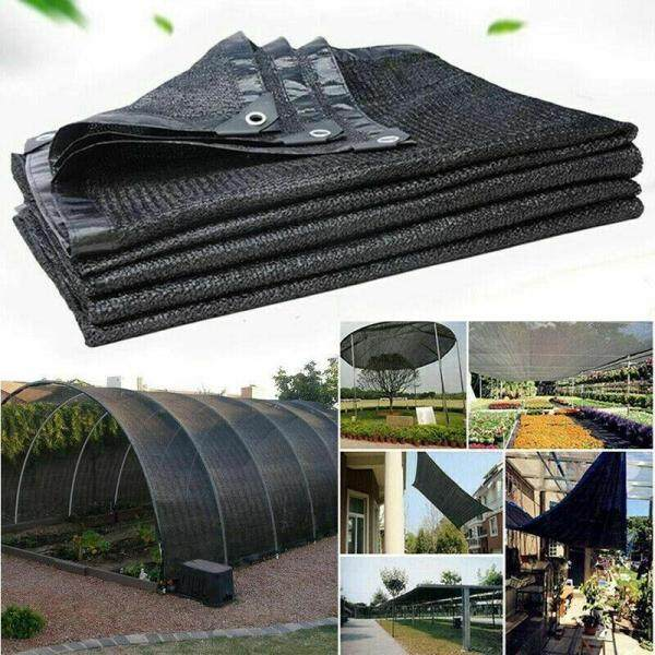 FS Anti-UV Sun Net Garden Sunscreen Sunblock Shade Sail Cloth Greenhouse Cover