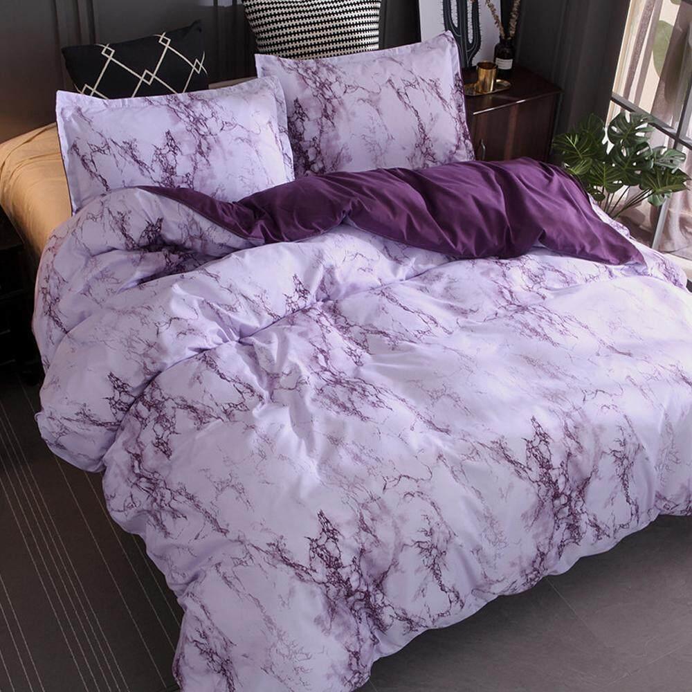 Bedding Sets 3pcs Polyester Fiber New Luxury Bedding Cover Set Bed Sheet Quilt Cover Duvet Cover