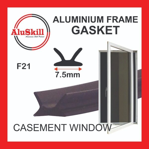 PVC Gasket - F21 (Aluminium Casement Window)