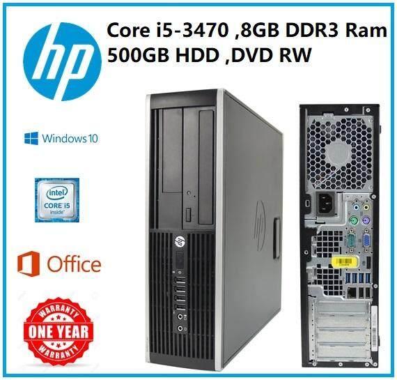 HP ELITE 8300 SSF i5-3470 - 8GB - 500GB - Windows 10 Pro - 1 Year Warranty