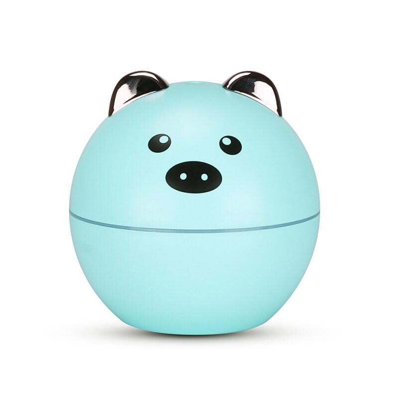 130ml Cartoon Pig Shape Ultrasonic Air Humidifier Aromatherapy Mist Maker Singapore