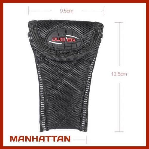 [ MANHATTAN ] Durable Soft Sax Saxophone Mouthpiece Pouch Bag Black (Black) Malaysia