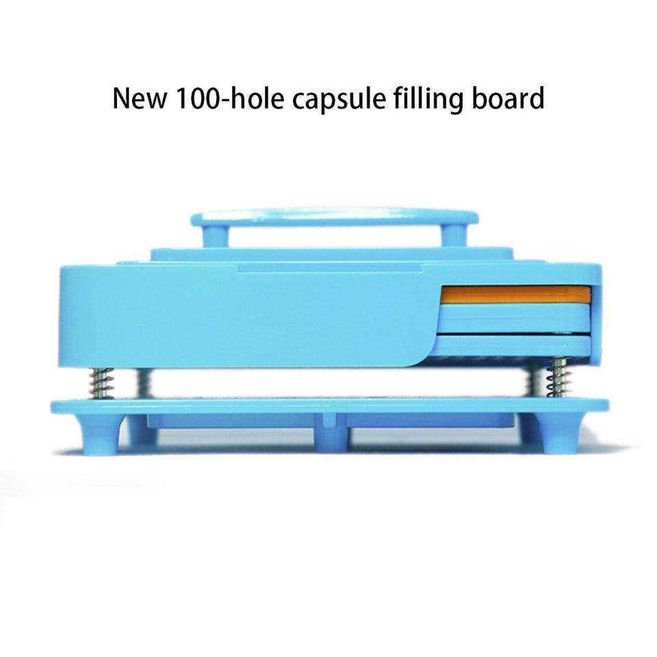 Crazy Sale Capsule Filler Plate 100 Hole Size 0 Capsule Plate Capsule Filling Manual Bulk Filling Capsule Filling Device Powder