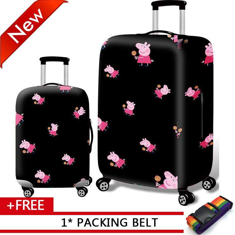 7345a4dd67bc Johnn Washable Spandex Travel Luggage Protector Baggage Suitcase Cover Fit  18-32 Inch Luggage
