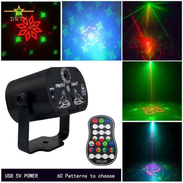 60 Hoa Văn Mini Đèn Sân Khấu Laser LED Hoa Văn Chiếu Đèn Cho Sinh Nhật Tiệc Cưới Thanh KTV