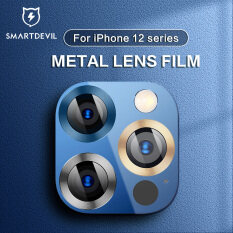 SmartDevil Iphone 12 Tấm Dán Bảo Vệ Ống Kính 9D Hợp Kim Ống Kính Khung Bảo Vệ IPhone12Pro 12Mini Đầy Đủ Màn Hình Camera Phía Sau Phim Vòng Ống Kính 12Promax Tấm Dán Bảo Vệ Ống Kính