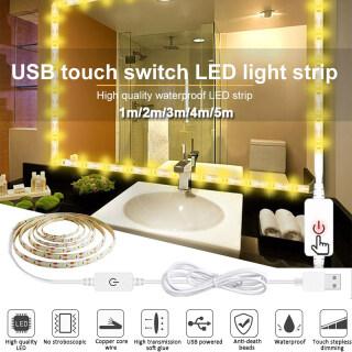 Dải Đèn LED 60 Độ Sáng, Đèn USB Chống Nước, Cho Lưng TV Gương Trang Điểm Thắp Sáng thumbnail