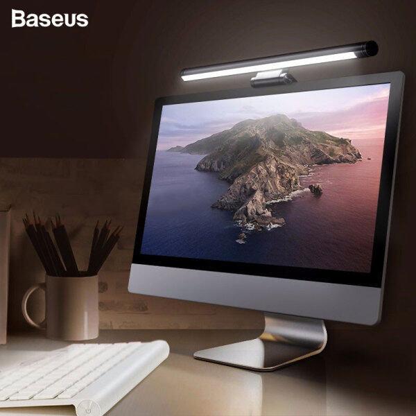 Baseus Screenbar LED Desk Lamp PC Computer Laptop Screen Bar Hanging Light USB Powered Adjustable Table Lamp Reading Light For LCD Monitor