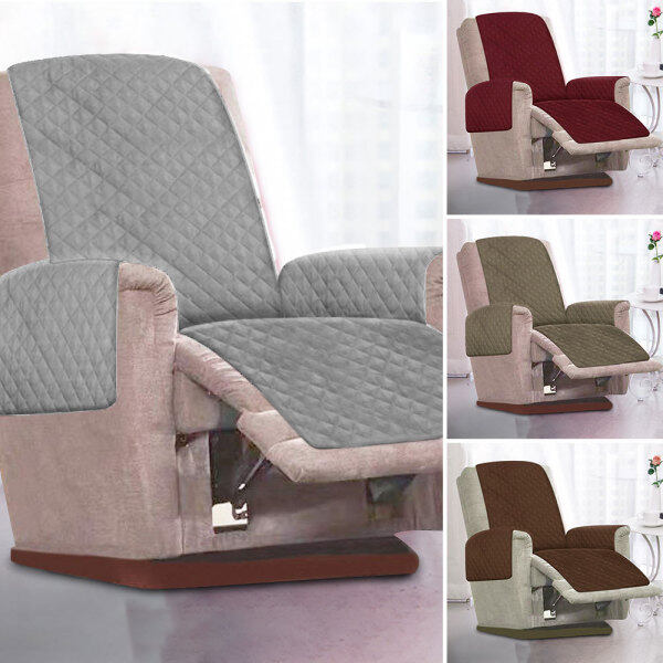 1 Seater Chair Sofa Couch Recliner Covers Slipcover Mat Furniture Protector New