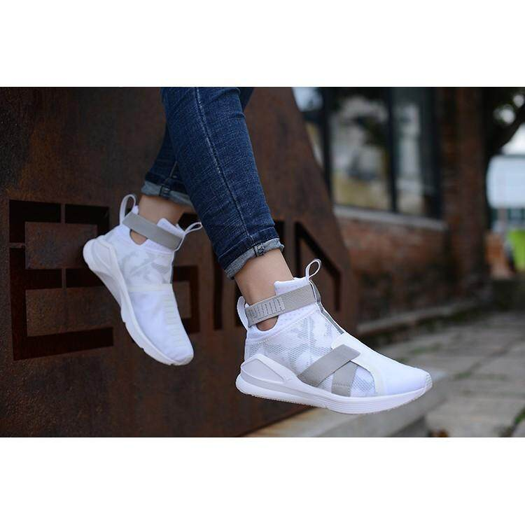 PUMA Fierce Strap Swan joint women s training shoes sneakers 123835271d0f