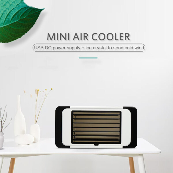 Latthome [Fast Shipped] Portable USB Mini Fan Mini Air Cooler Air Conditioner Fan Air Cooler, Easy Way to Cool Home Air Conditioner Fan 5W
