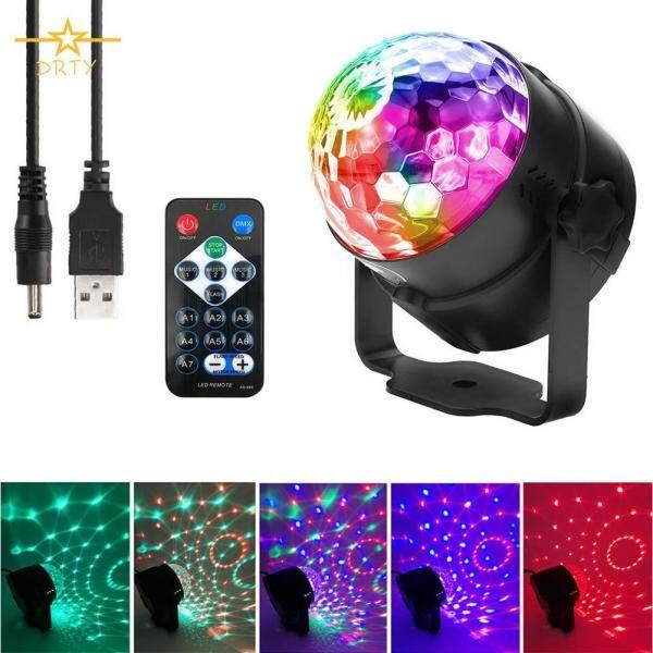 Kích Hoạt Âm Thanh Disco Bóng Đèn LED Nhấp Nháy RBG Đèn Đèn Cho Bữa Tiệc, Nhà Vũ Thanh Có Remote