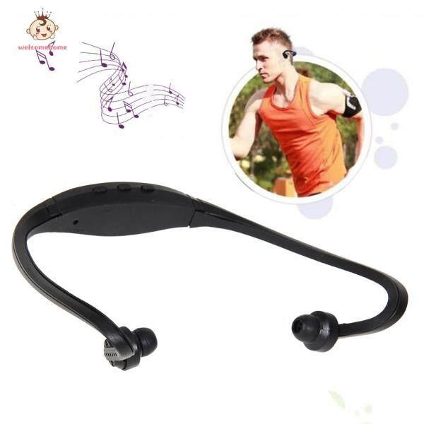 [Ready Stock]welcomehome Sport Headphone Card Earphone MP3 Music Player Micro SD TF Headset Singapore