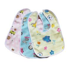 I Love Daddy&Mummy Yếm hai lớp khoét cổ tròn chất liệu bông cotton dành cho trẻ em – INTL