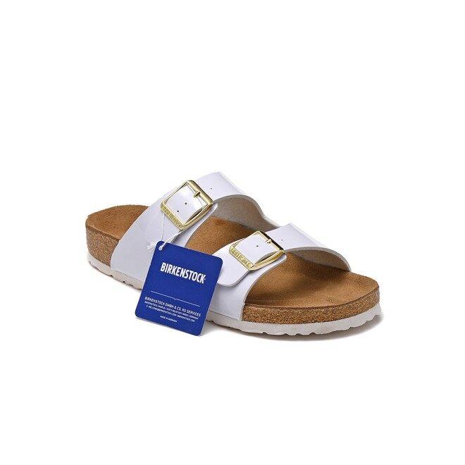 Giày Dây Da Birkenstocks Cho Nam Nữ, Giày Đi Biển Hai Khóa Cho Cặp Đôi giá rẻ