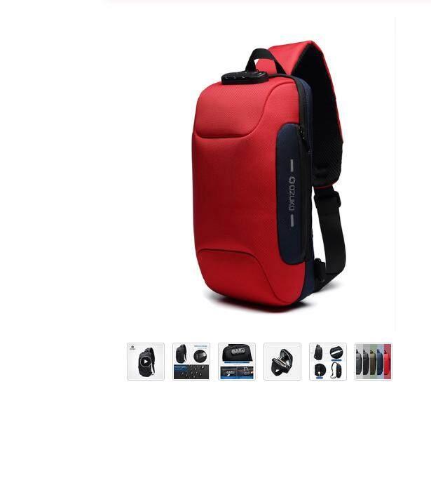 Ozuko 2019 New Multifunctional Robbers Burglar-proof Bag Short Package for Mens Burglar-proof Bra