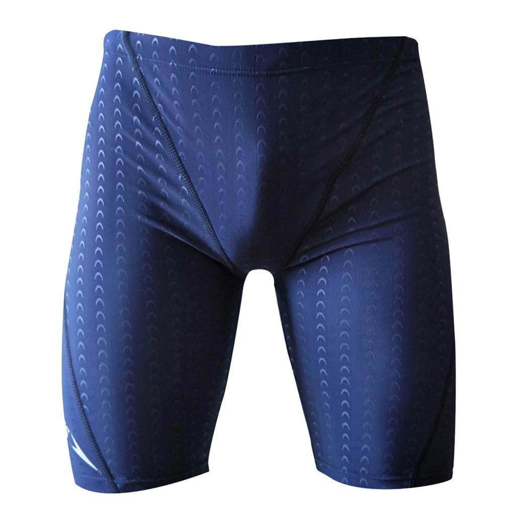 3724470571 Tandyshop Men's Brand Stripe Sexy Nylon Breathable Bulge Briefs Swimming  Trunks No Brand
