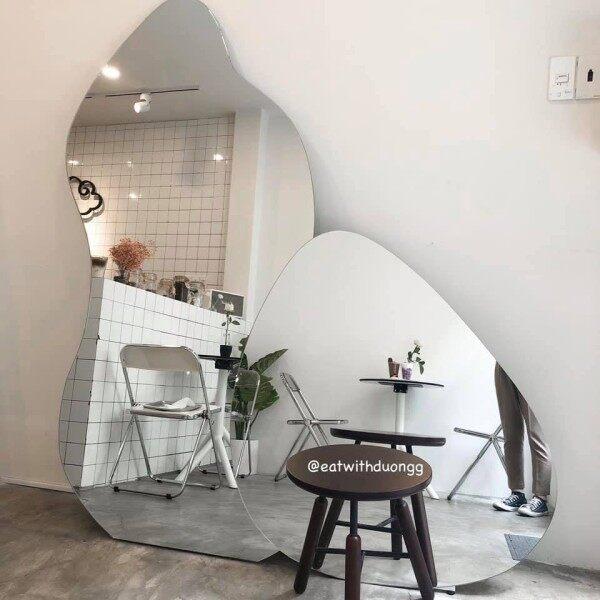[HCM]Gương soi toàn thân treo tường vintage cổ điển hồ lô 101x190cm HL giá rẻ