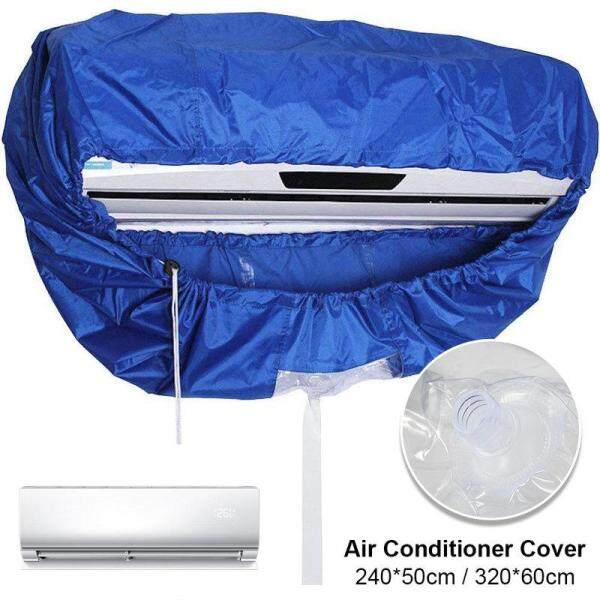 for 1p/2p/3p Blue Air Conditioner Cover Cleaning Dust Washing Cover Clean Waterproof Protector