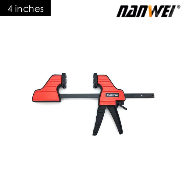 NANWEI 12/6/4 In-ch Fast Clip Fixing F Fixture Heavy Duty Wood Board Clamp Strong Clamp Woodworking Tool