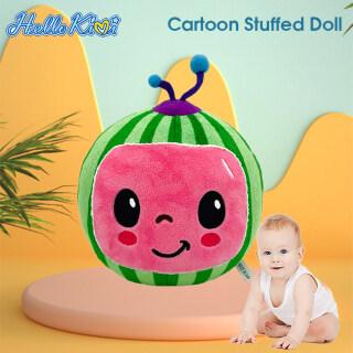 Hellokimi Gối nhồi bông mềm hình quả dưa hấu hoạt hình Cocomelon JJ làm quà sinh nhật cho trẻ em - INTL thumbnail