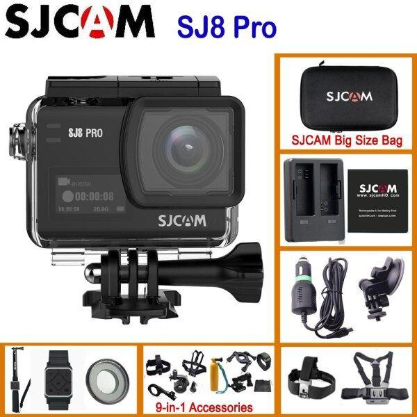Sj8 Pro Sj8 Series 4K 60Fps Wifi Remote Helmet Action Camera Ambarella Chipset 4K/60Fps Ultra Hd Extreme Sports Dv Camera