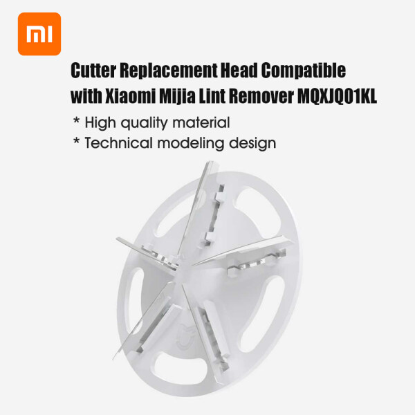 Cutter Đầu Thay Thế Tương Thích Với Xiaomi Mijia Máy Cắt Xơ Vải MQXJQ01KL