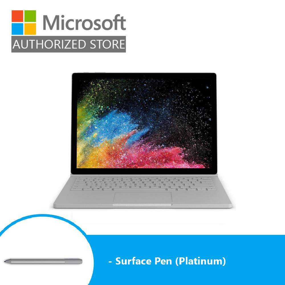 Microsoft Surface Book 2 13 i7/8GB - 256GB (Platinum) + Pen (Platinum) Malaysia
