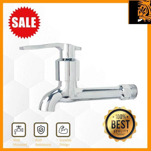SONCO Bathroom /Kitchen Faucet Extended Long Tap Faucet Bib Wall Mounted Water Tap