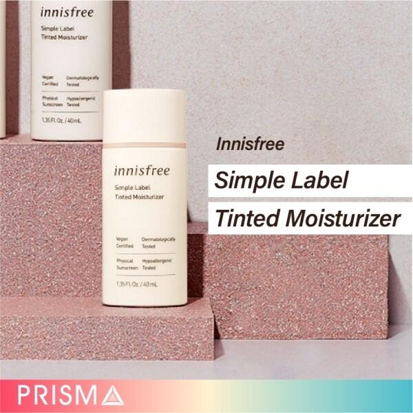 Buy Innisfree Simple Label Tinted Moisturizer BB cream lotion foundation Singapore