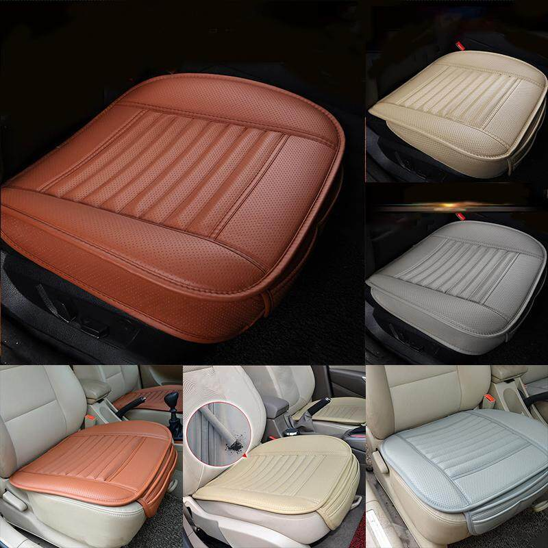 3D Universal Car Seat Cover PU Breathable Pad Mat for Auto Chair Cushion Be UK
