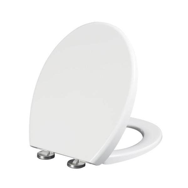 (Best Selling)BH 45X38.5X4CM O Shaped Thicken White Toilet Seat Cover